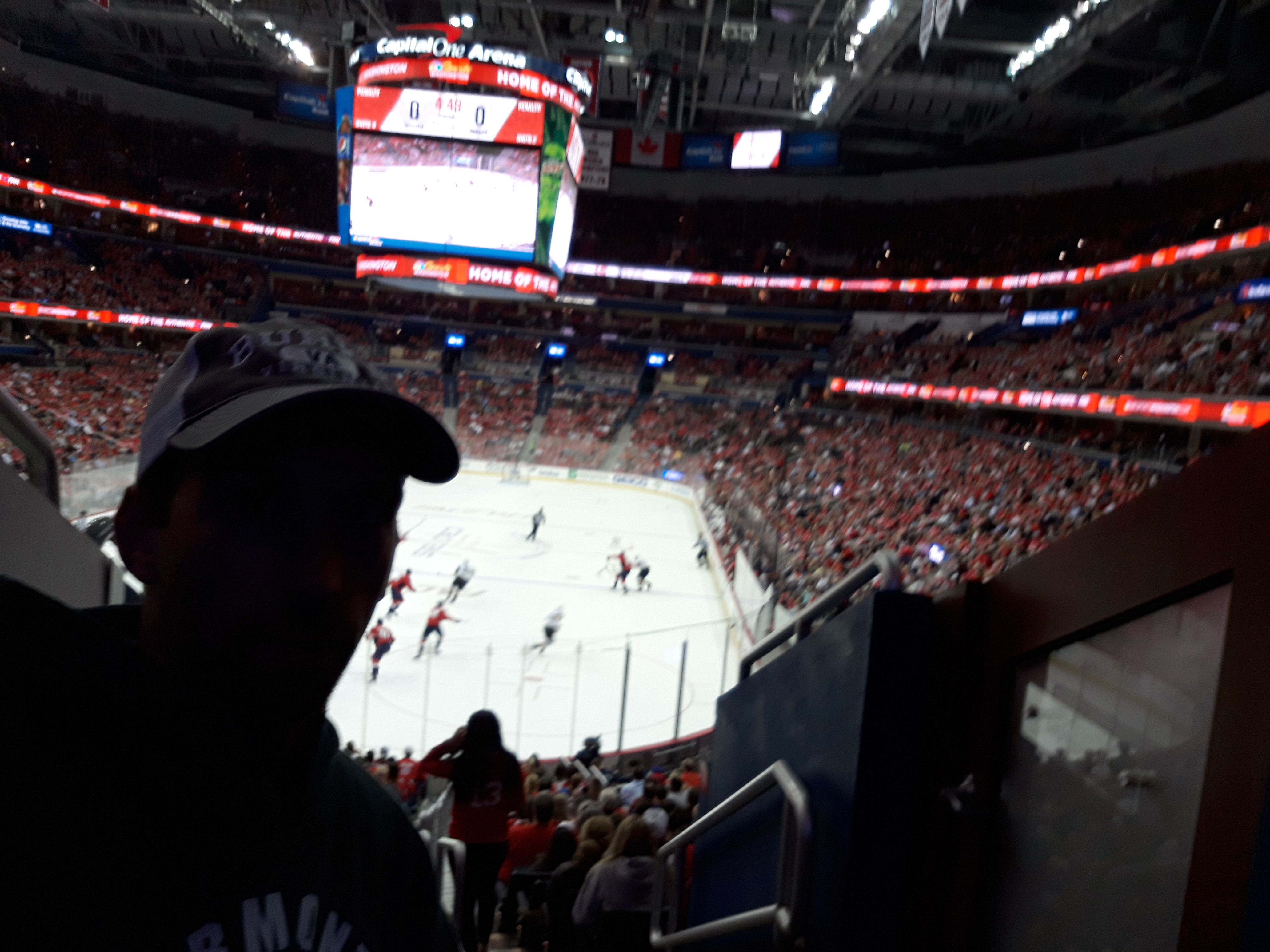 Got to the game