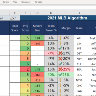 Last day I worked on the MLB algorithm